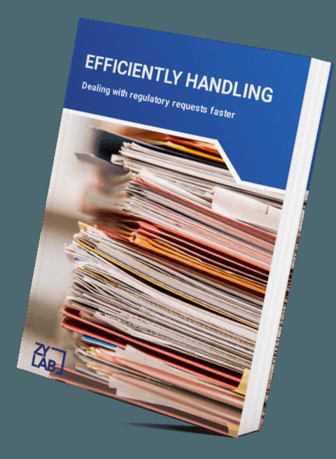 Efficiently handling regulatory requests LP