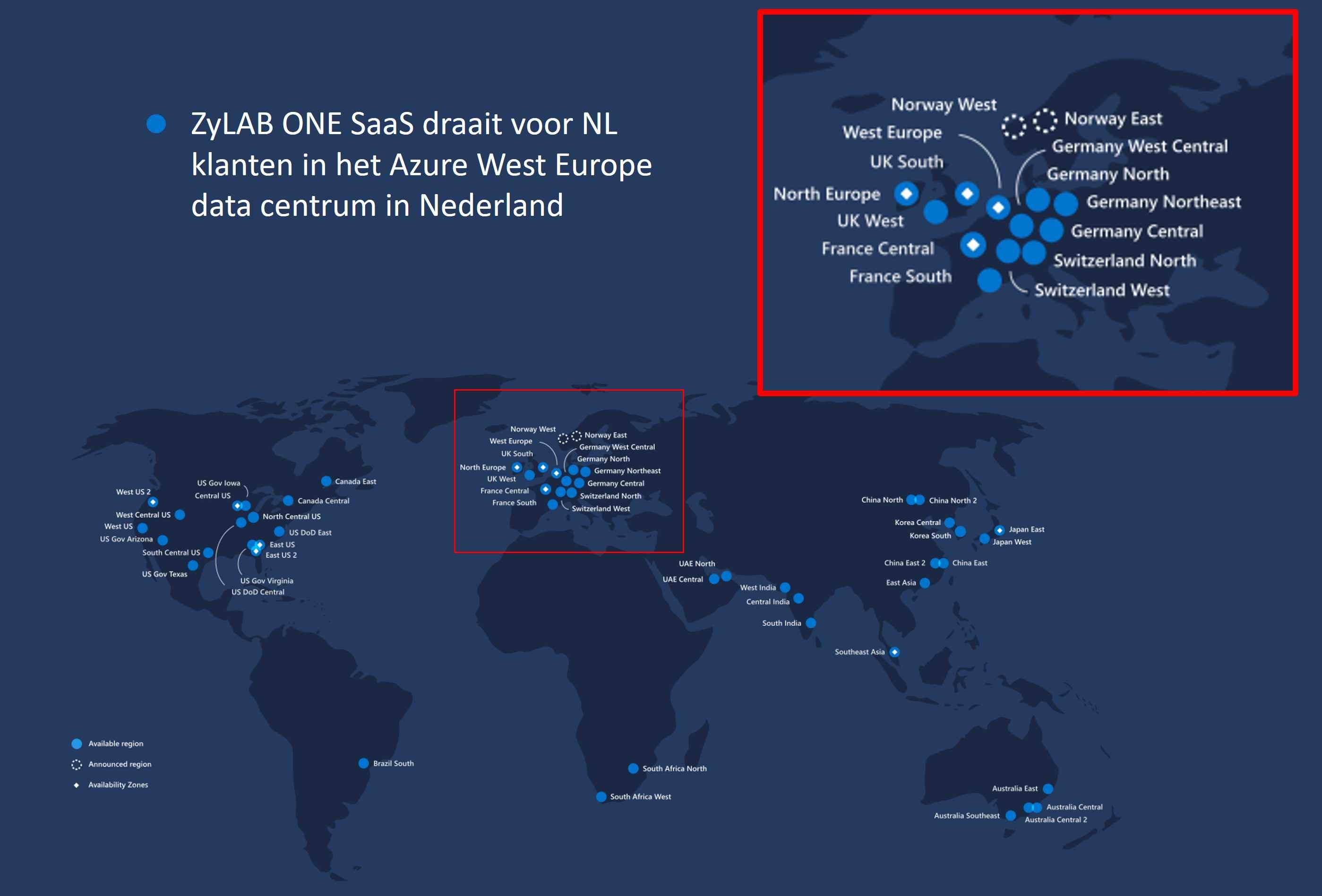 Azure Datacenters