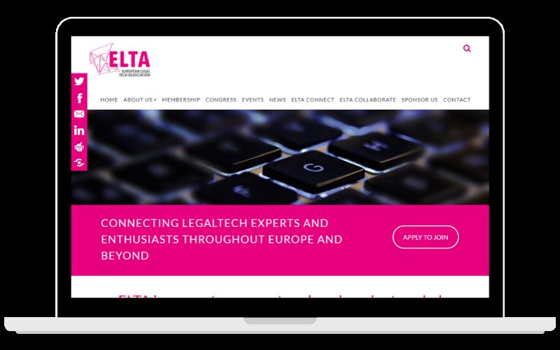 Screenshots Partner Page ELTA