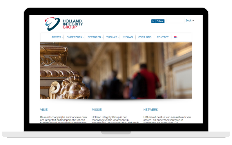 Screenshots Partner Page HIG