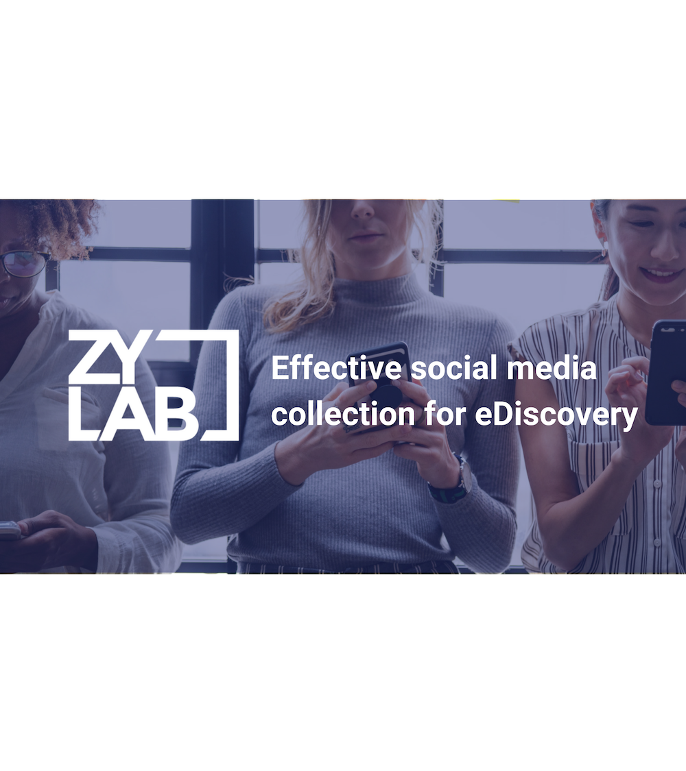 Effective social media collection for eDiscovery