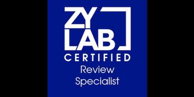ZyLAB Certified Review Specialist