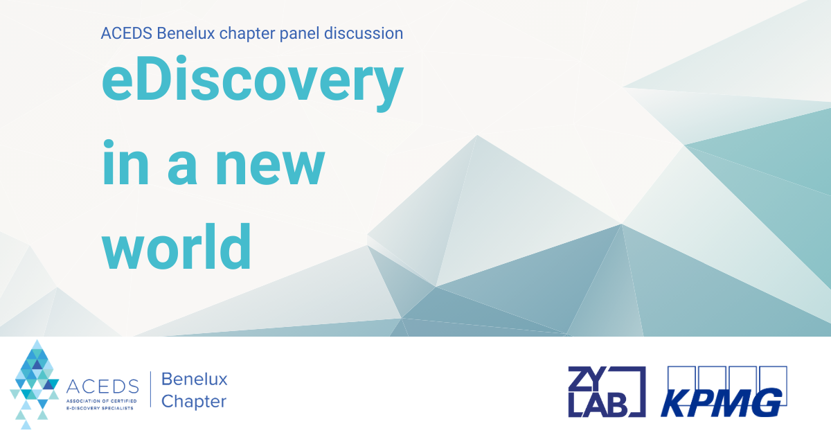 ACEDS panel 2020 eDiscovery in a new world