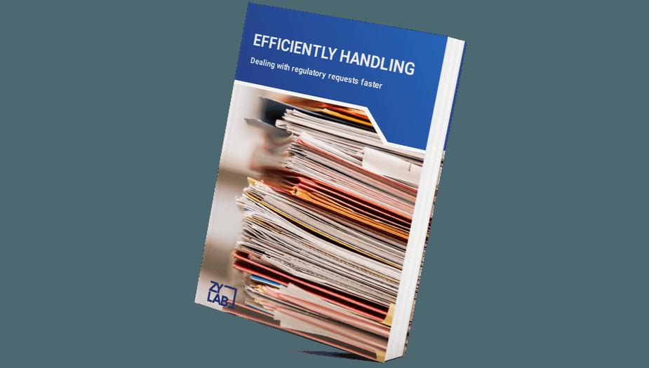 Efficiently handling regulatory requests